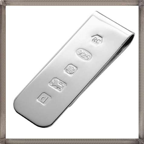 Sterling-silver-money-clip The 15 Most Popular Sterling Silver Money Clips