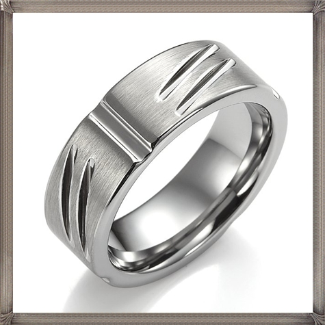 Stunning-RnB-Infinity-Tungsten-Mens-Ring-Silver-Wedding-Band 5 CRITICAL Tips You Should Keep in Mind When Buying Men's Silver Wedding Bands