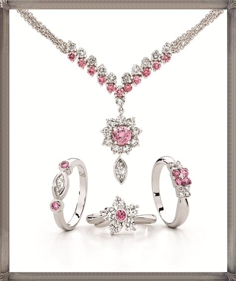 Stunning-necklace-featuring-natural-Australian-Argyle-pink-diamonds How to Choose and Buy Most STYLISH Pink Diamond Necklace Designs