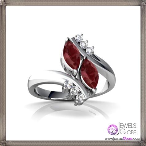 Stylish-Ruby-RINGS-for-Women 32+ Most Elegant Genuine Ruby Rings For Women