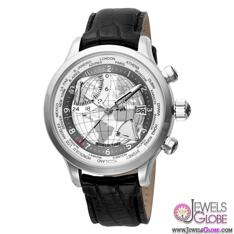 TX-Unisex-World-Time-Airport-Lounge-Watch Stylish Invicta Watches For Men