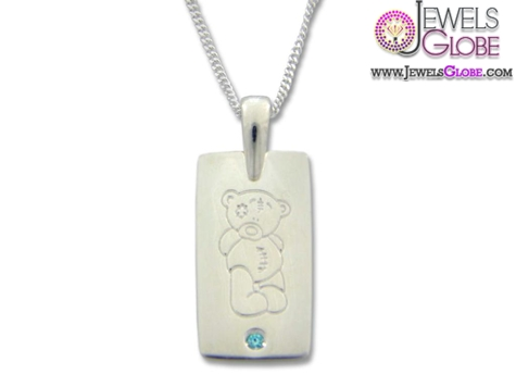 Tatty-Teddy-Silver-baby-necklace 33 Amazing Designs Of Baby Necklaces