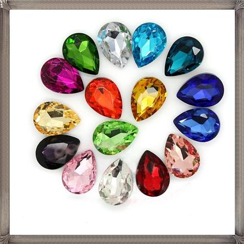 Tear-drop-loose-rhinestone-fancy-crystal-in-pointed-back Steps To Take When Buying Loose Gemstones