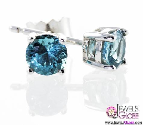 Tourmaline-gemstone-stud-earrings The 43 Hottest Gemstone Drop And Stud Earrings Designs for Women
