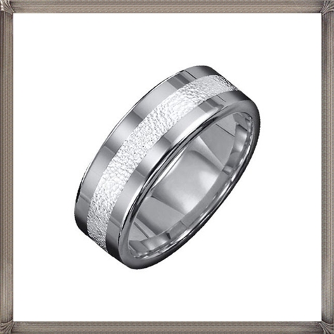 Triton-By-Goldman-Mens-Wedding-Band-in-Tungsten-Carbide-Sterling-Silver 5 CRITICAL Tips You Should Keep in Mind When Buying Men's Silver Wedding Bands