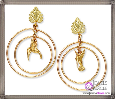 Unique-designs-of-Nature-Earrings-made-of-10K-gold-and-Sterling-Silver These Are The BEST 32 Diamond Hoop Earrings You'll See (Plus Shopping Tips)