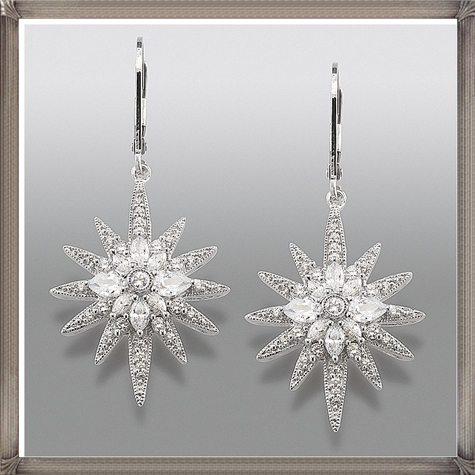 Vedere-Le-Stelle-Signature-Star-Simulated-Diamond-Earrings Latest Signature Diamond Earrings For Women