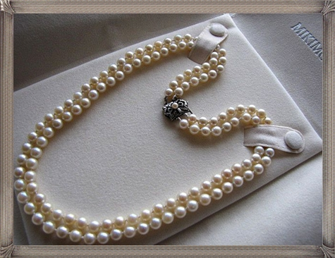Vintage-Double-Strand-MIKIMOTO-Cultured-Pearl-Necklace The 15 GREATEST Mikimoto Pearl Necklaces
