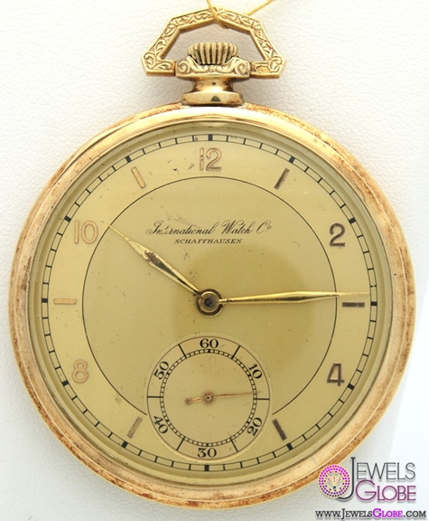 Vintage-IWC-Pocket-Watch-For-Men Latest pocket watches for men (HOT Styles)