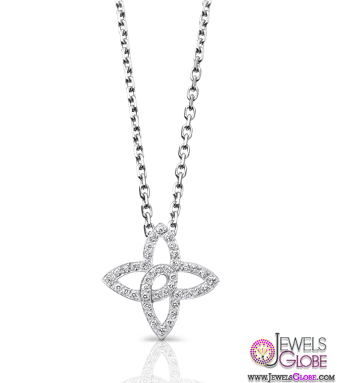 White-goldBR-42-brilliant-cut-diamondsBR-Part-of-Les-Ardentes Best 10 Cheapest Diamond Necklaces For Sale