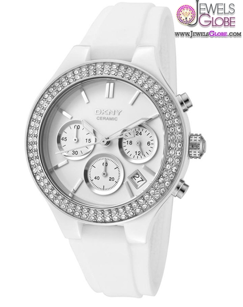 White-gorgeous-DKNY-womens-watch The Best DKNY Watches For Women
