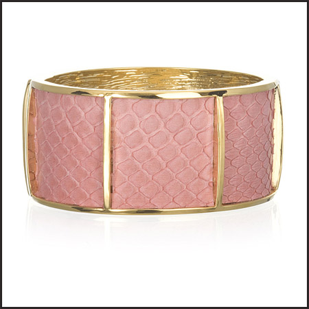 Wide-Section-Cuff-Coral-Python-Bangle Best 7 Bangles Collection That Amaze Each Woman