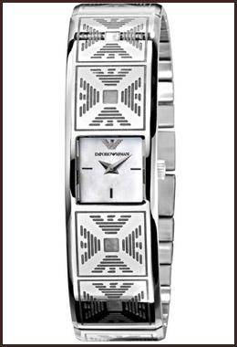 armani-ladies-watch-stainless-steel-bracelet Best 7 Armani Ladies Watches Designs