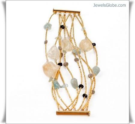 candy-gold-gemstone-bracelet-stylish-good-design 18 Best Gold Gemstone Bracelets Designs
