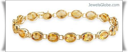 capricorn-diamond-bracelet-yellow-gold-gemstone-bracelet-women-design 18 Best Gold Gemstone Bracelets Designs