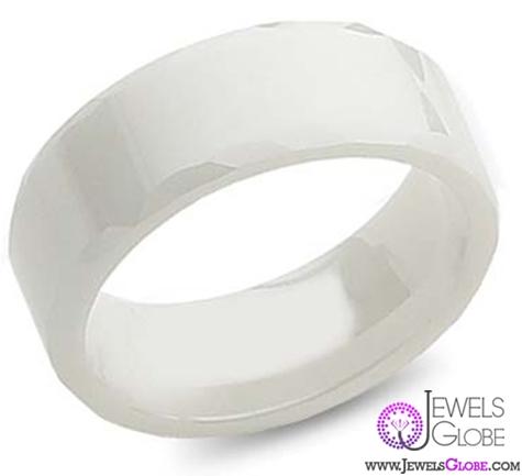 ceramic-wedding-band Best 23 White Ceramic Wedding Bands for Men