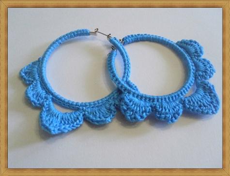 crochet-hoop-earring-crochet-earrings-blue-crochet-earrings-blue-earrings Best Ways to Choose Most Stylish Earrings