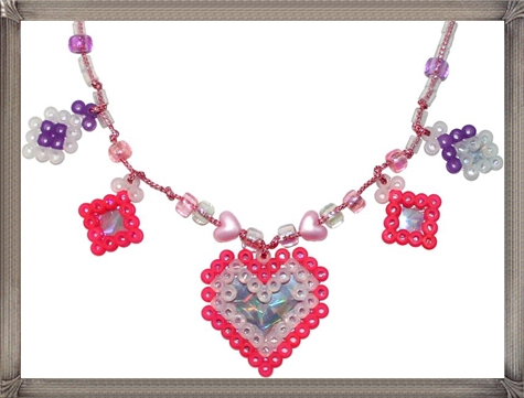 custom-Perler-Bead-necklaces-and-other-jewelry-pieces-for-kids 16 STYLISH and Attractive Kids Jewelry Designs