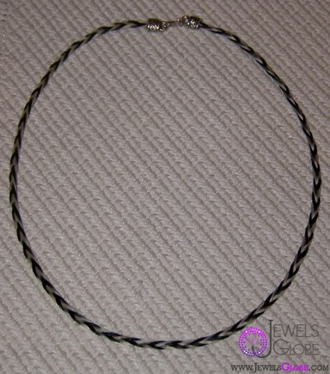 custom-horse-hair-jewelry-necklace The 33 Most Popular Horse Hair Jewelry Designs