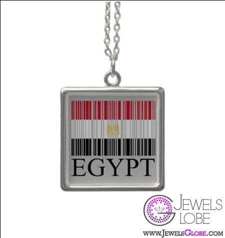 egypt-flag-barcode-revolution-necklace 31 Exclusive Arab Revolutions' Accessories Images