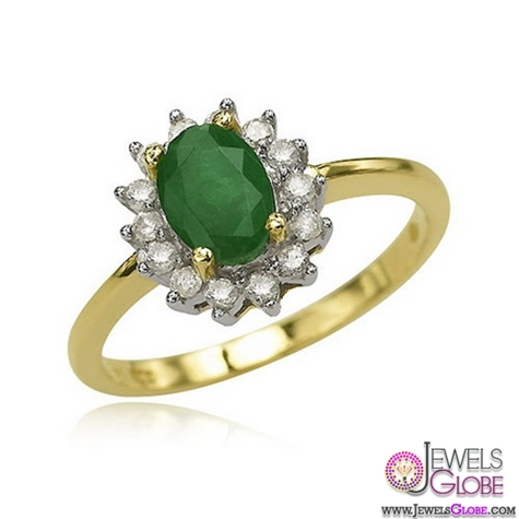 emerald-engagement-ring-in-18k-yellow-gold A Quick Way to Get Cheap Emerald Rings For Sale
