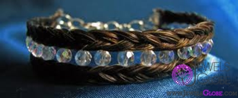 fashion-horsehair-jewelry-bracelet The 33 Most Popular Horse Hair Jewelry Designs