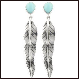 feather-earring Hottest Long Feather Earrings: Great Colors