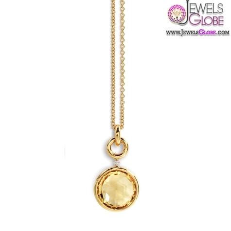 furst-jicky-citrine-yellow-gold-pendant-for-women The 29 Most Popular Gold Pendant Designs For Women