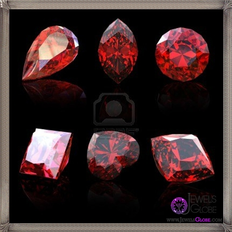 garnet-gems-diferent-shapes 10 Hidden facts about Gemstones That You Must Know