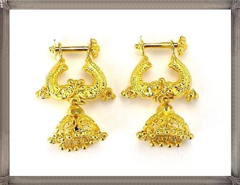 gold-earrings-designs Latest Gold Earrings Designs 2019