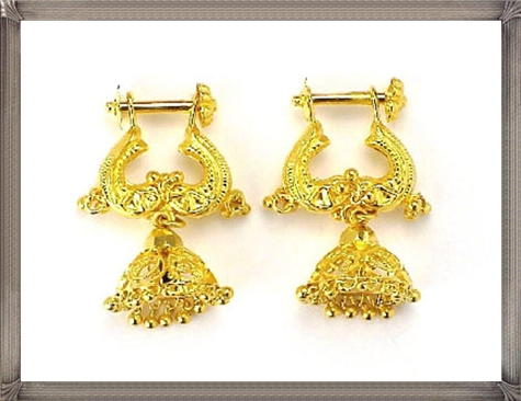 gold-earrings-designs Latest Gold Earrings Designs 2019