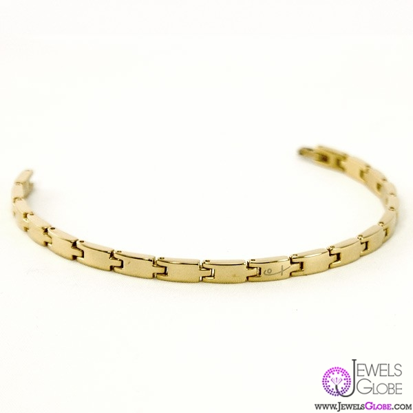 gold-link-bracelet-women 18 Hot Gold Link Bracelets Designs