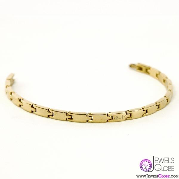 gold-link-bracelet-women 18 Hot Gold Link Bracelets Designs
