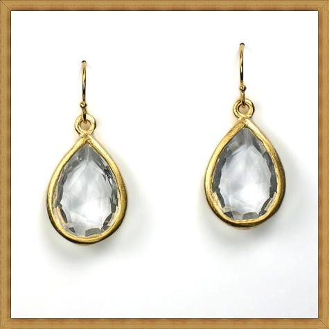 gold-small-teardrop-earring-clear-10651-1178 Best Ways to Choose Most Stylish Earrings
