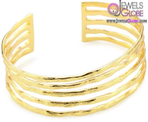 gorjana-perry-gold-tone-five-band-women-cuff-bracelet 35 Hot Cuff Bracelets For Women