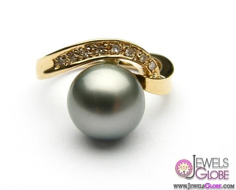 hawaiian-tahitian-black-pearl-rings Top Pearl Rings For Sale