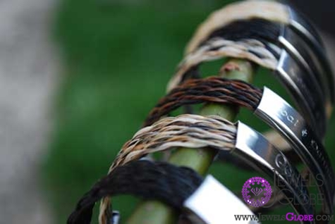 horse-hair-jewellery-bracelets The 33 Most Popular Horse Hair Jewelry Designs