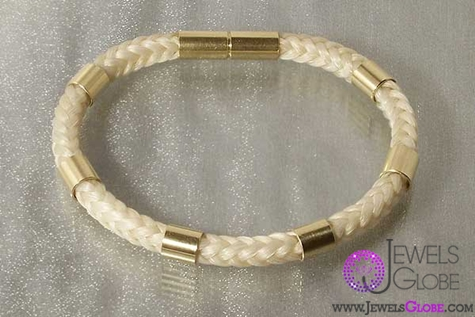 horse-hair-jewellery-silver-bracelet The 33 Most Popular Horse Hair Jewelry Designs