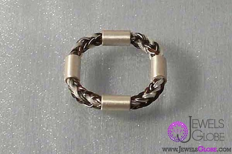 horse-hair-silver-ring-jewellery The 33 Most Popular Horse Hair Jewelry Designs