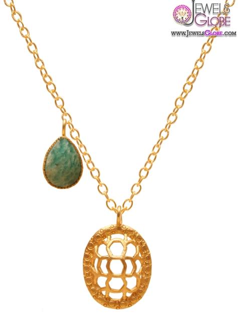 kevia-honeycomb-pendant-design The 29 Most Popular Gold Pendant Designs For Women