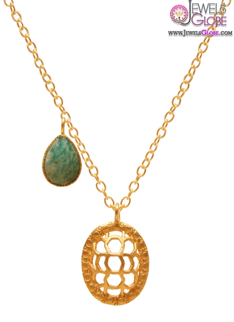 kevia-honeycomb-pendant-design The 29 Most Popular Gold Pendant Designs For Women