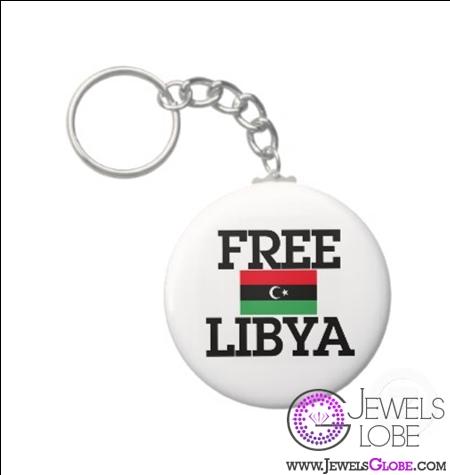 libya-revolution-keychain 31 Exclusive Arab Revolutions' Accessories Images