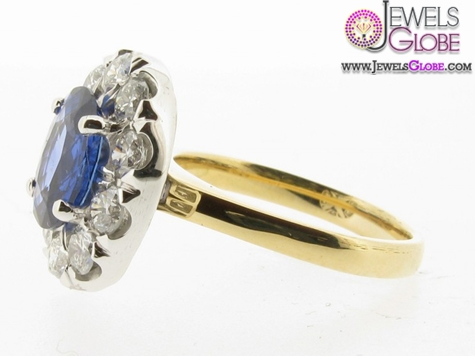 light-blue-sapphire-engagement-rings-with-diamonds-in-Yellow-Gold Top 21 Blue Sapphire Engagement Rings Designs