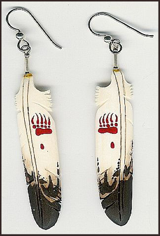 long-feather-earrings-colored Hottest Long Feather Earrings: Great Colors