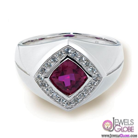 mens-ruby-ring-designs Most Stylish Men's Ruby Rings Designs
