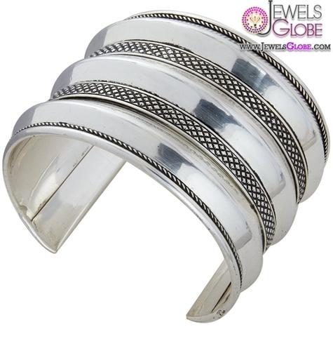merveilles-silver-cuff-bracelet-for-women 35 Hot Cuff Bracelets For Women