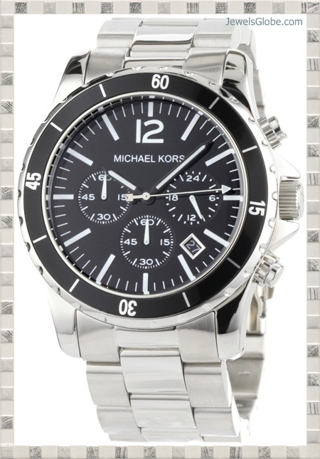michael-kors-mens-watches-silver-black-madison 15 Most Expensive Men's Watches in The World (Exclusive)