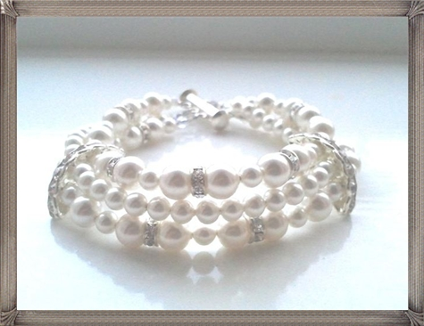 most-popular-bridal-bracelets 28+ Most Amazing Pearl Bracelets For Brides