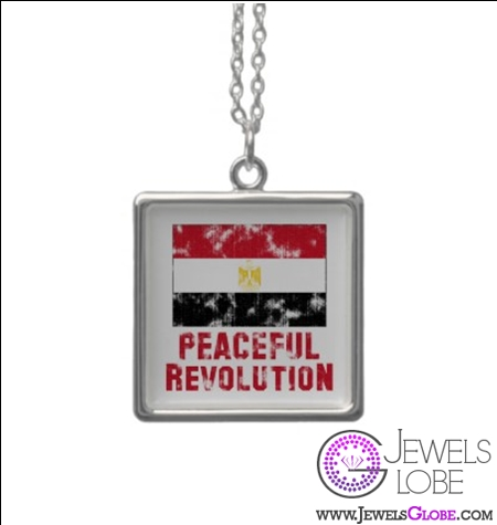 peaceful-revolution-vintage-necklace 31 Exclusive Arab Revolutions' Accessories Images