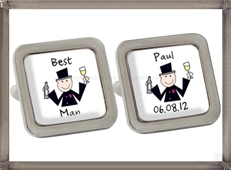personalised-cufflinks-are-a-fabulous-gift personalised cufflinks for men